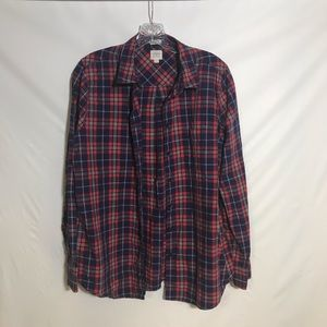 J Crew plaid button down shirt